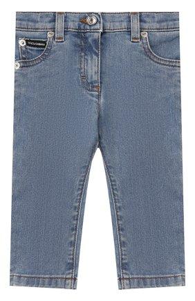 Детские джинсы DOLCE & GABBANA голубого цвета, арт. L21F60/LD885 | Фото 1