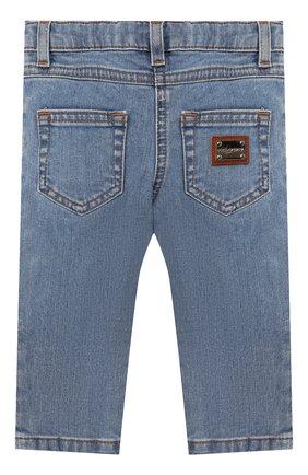 Детские джинсы DOLCE & GABBANA голубого цвета, арт. L21F60/LD885 | Фото 2