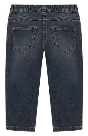 Детские джинсы DOLCE & GABBANA синего цвета, арт. L22F04/LD873 | Фото 2