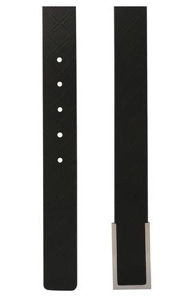 Мужской кожаный ремень BOTTEGA VENETA черного цвета, арт. 620216/VCRE3 | Фото 2