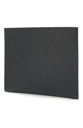 Мужской кожаный футляр для кредитных карт GIVENCHY темно-синего цвета, арт. BK6003K0UG | Фото 2