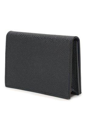 Мужской кожаный футляр для кредитных карт GIVENCHY темно-синего цвета, арт. BK6004K0UG | Фото 2