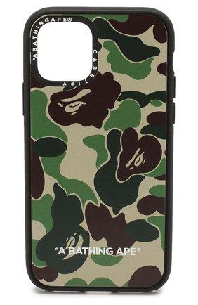 Мужской чехол для iphone 11 pro BAPE зеленого цвета, арт. 1G30182024 | Фото 1