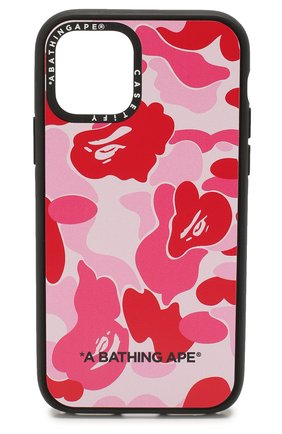Мужской чехол для iphone 11 pro BAPE розового цвета, арт. 1G30182024 | Фото 1