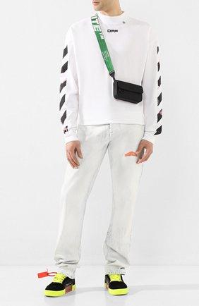 Мужская сумка OFF-WHITE черного цвета, арт. 0MNA032S20A660201000 | Фото 2