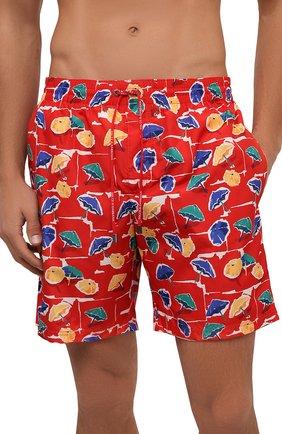 Детского плавки-шорты DOLCE & GABBANA красного цвета, арт. M4A13T/HSM2A | Фото 2