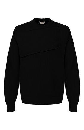 Мужской кашемировый свитер BOTTEGA VENETA черного цвета, арт. 620902/VKTI0 | Фото 1