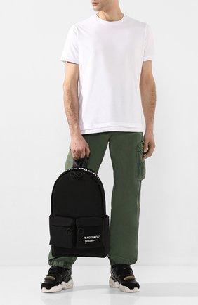 Мужской текстильный рюкзак OFF-WHITE черного цвета, арт. 0MNB003R205210381001 | Фото 2