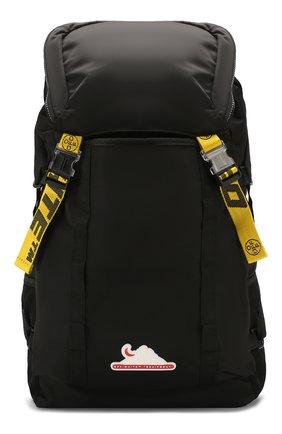Мужской текстильный рюкзак OFF-WHITE черного цвета, арт. 0MKN001R20E480011000 | Фото 1