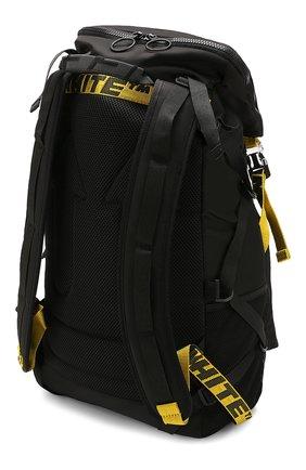 Мужской текстильный рюкзак OFF-WHITE черного цвета, арт. 0MKN001R20E480011000 | Фото 4