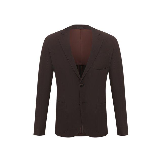 Пиджак из смеси вискозы и шерсти Giorgio Armani