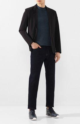 Мужская куртка MONCLER черного цвета, арт. F1-091-1B720-00-53791 | Фото 2