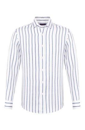 Мужская льняная рубашка RALPH LAUREN разноцветного цвета, арт. 790791907 | Фото 1