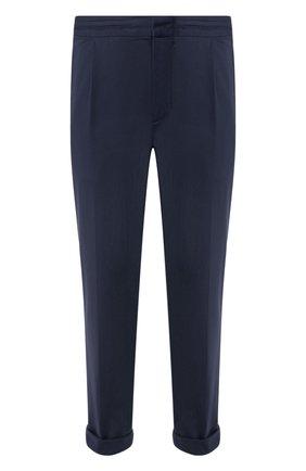 Мужской брюки KNT темно-синего цвета, арт. UPS0102K06S41 | Фото 1