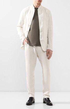 Мужской кожаные дерби SILVANO SASSETTI темно-синего цвета, арт. S19974X413BDIVINAVY | Фото 2