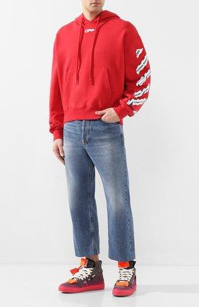 Мужские кожаные кеды off-court 3.0 OFF-WHITE розового цвета, арт. 0MIA065S20G930430828 | Фото 2