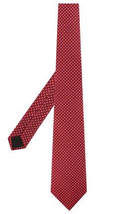 Мужской комплект из галстука и платка LANVIN красного цвета, арт. 4250/TIE SET | Фото 2