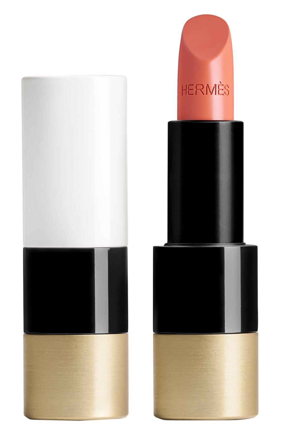 Атласная губная помада rouge hermès, beige tadelakt HERMÈS бесцветного цвета, арт. 60001SV016H   Фото 1