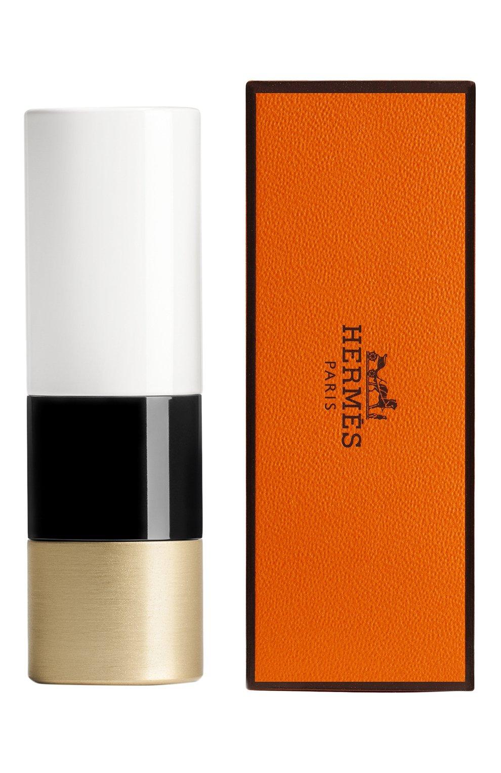 Атласная губная помада rouge hermès, beige tadelakt HERMÈS бесцветного цвета, арт. 60001SV016H   Фото 2