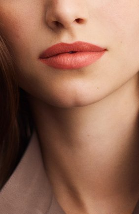 Атласная губная помада rouge hermès, beige tadelakt HERMÈS бесцветного цвета, арт. 60001SV016H   Фото 6