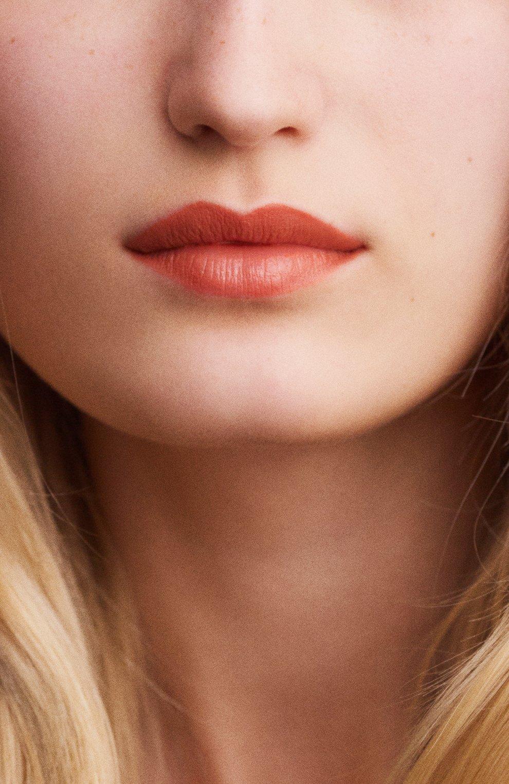 Атласная губная помада rouge hermès, beige tadelakt HERMÈS бесцветного цвета, арт. 60001SV016H   Фото 7
