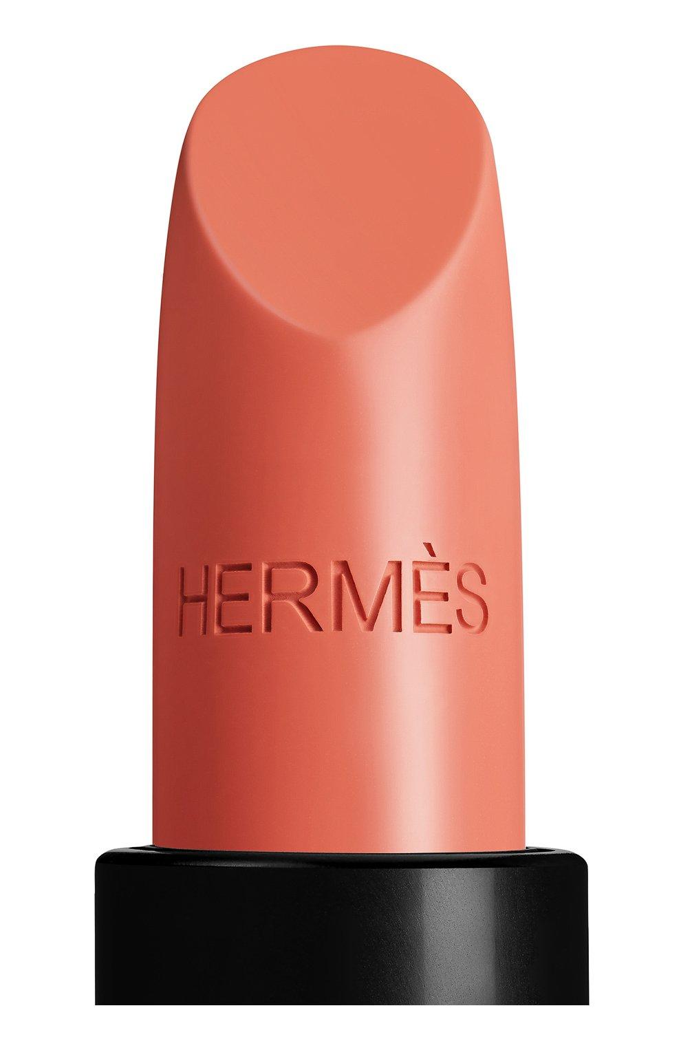 Атласная губная помада rouge hermès, beige tadelakt HERMÈS бесцветного цвета, арт. 60001SV016H   Фото 10