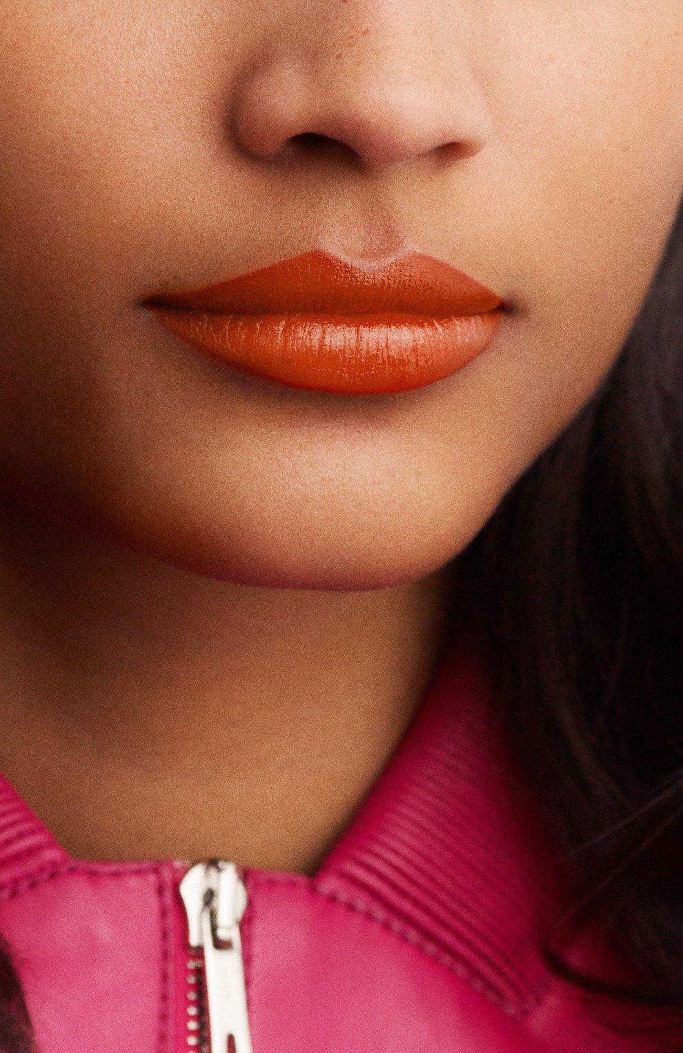 Женская атласная губная помада rouge hermès, orange boîte HERMÈS бесцветного цвета, арт. 60001SV033H | Фото 7