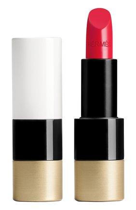 Атласная губная помада rouge hermès, rouge piment HERMÈS бесцветного цвета, арт. 60001SV066H | Фото 1