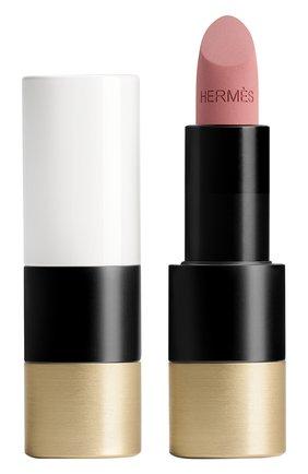 Матовая губная помада rouge hermès, beige naturel HERMÈS бесцветного цвета, арт. 60001MV011H | Фото 1