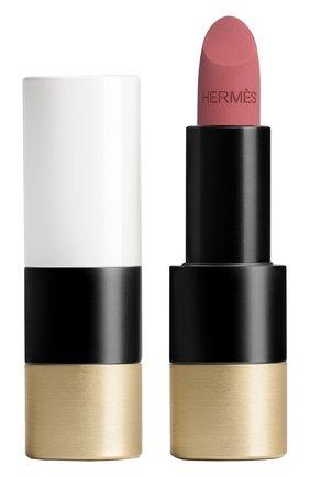 Женская матовая губная помада rouge hermès, rose boisé HERMÈS бесцветного цвета, арт. 60001MV048H | Фото 1