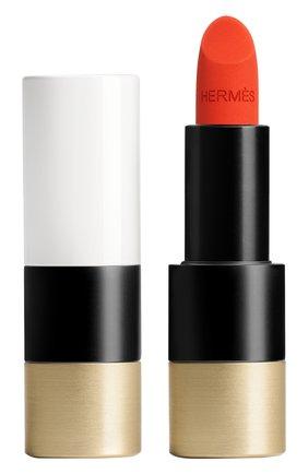 Матовая губная помада rouge hermès, rouge orange HERMÈS бесцветного цвета, арт. 60001MV053H | Фото 1