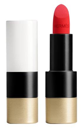 Матовая губная помада rouge hermès, rouge casaque HERMÈS бесцветного цвета, арт. 60001MV064H | Фото 1