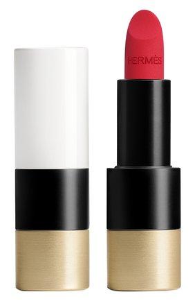 Матовая губная помада rouge hermès, rouge bleu HERMÈS бесцветного цвета, арт. 60001MV068H | Фото 1