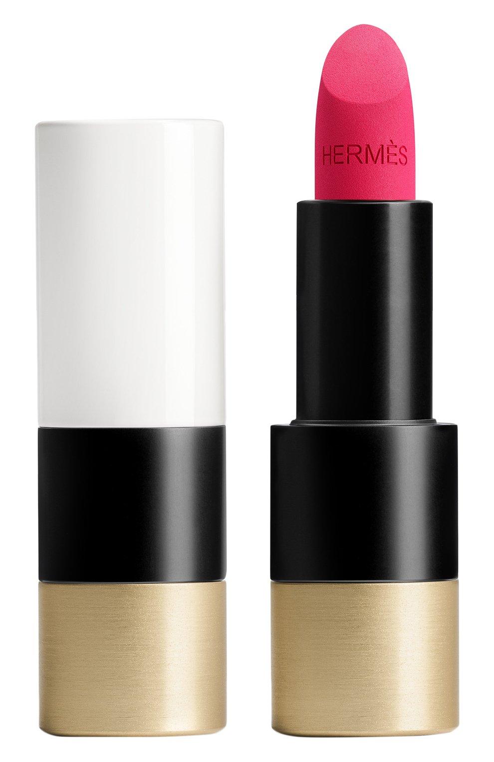 Матовая губная помада rouge hermès, rose indien HERMÈS бесцветного цвета, арт. 60001MV070H   Фото 1