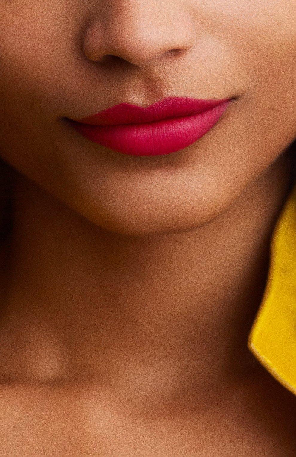 Матовая губная помада rouge hermès, rose indien HERMÈS бесцветного цвета, арт. 60001MV070H   Фото 5