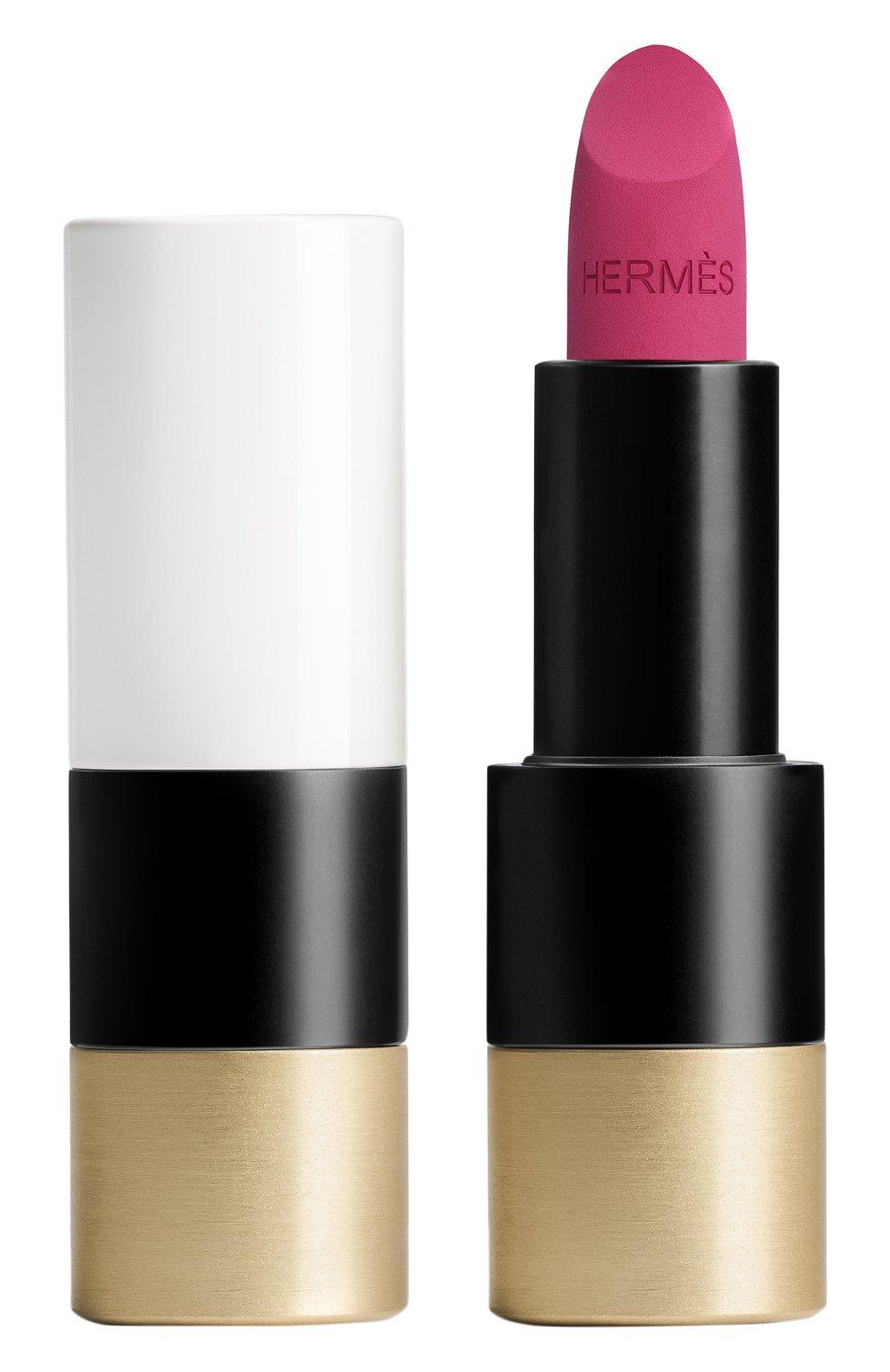 Женская матовая губная помада rouge hermès, rose velours HERMÈS бесцветного цвета, арт. 60001MV078H   Фото 1