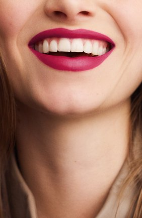 Женская матовая губная помада rouge hermès, rose velours HERMÈS бесцветного цвета, арт. 60001MV078H   Фото 3