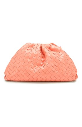Женский клатч pouch BOTTEGA VENETA кораллового цвета, арт. 576175/VCPP0 | Фото 1