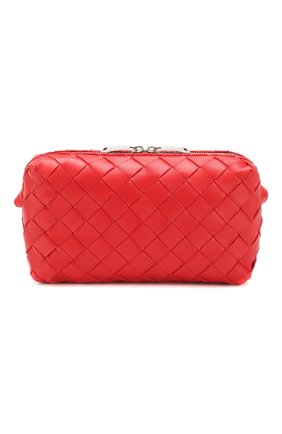 Женская сумка BOTTEGA VENETA красного цвета, арт. 609407/VCPP5 | Фото 1