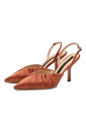 Женская текстильные туфли MIDNIGHT светло-коричневого цвета, арт. V28780TDH | Фото 1