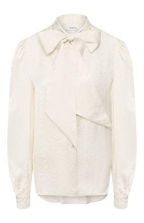 Женская блузка из вискозы RACIL белого цвета, арт. RS10-T10-F-S0LANGE   Фото 1