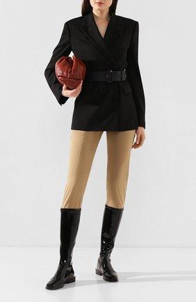Женские сапоги FENDI черного цвета, арт. 8U7054 A8U6 | Фото 2