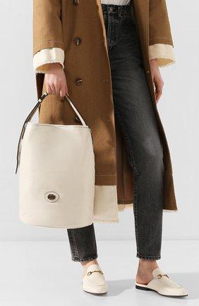 Женская сумка morpheus GUCCI белого цвета, арт. 598086/1GZ0X | Фото 2