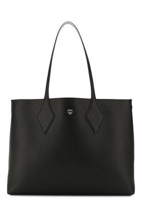 Женский сумка-шопер project medium MCM черного цвета, арт. MWP ASXS01   Фото 1