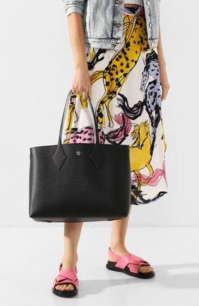 Женский сумка-шопер project medium MCM черного цвета, арт. MWP ASXS01   Фото 2