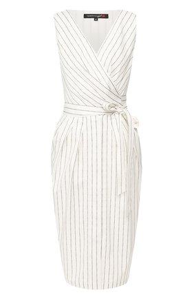 Женское хлопковое платье TEREKHOV GIRL белого цвета, арт. 2D136/3880.TGS100/S20 | Фото 1