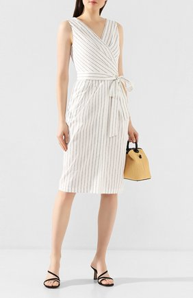 Женское хлопковое платье TEREKHOV GIRL белого цвета, арт. 2D136/3880.TGS100/S20 | Фото 2