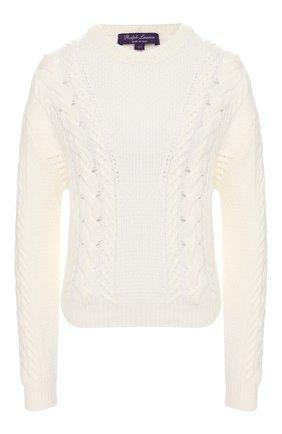 Женская кашемировый свитер RALPH LAUREN кремвого цвета, арт. 290797647 | Фото 1