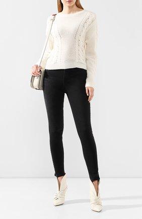 Женская кашемировый свитер RALPH LAUREN кремвого цвета, арт. 290797647 | Фото 2
