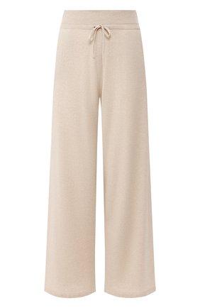 Женские кашемировые брюки CRUCIANI светло-бежевого цвета, арт. CD25.006 | Фото 1